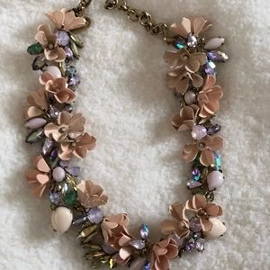 JCREW Floral Necklace